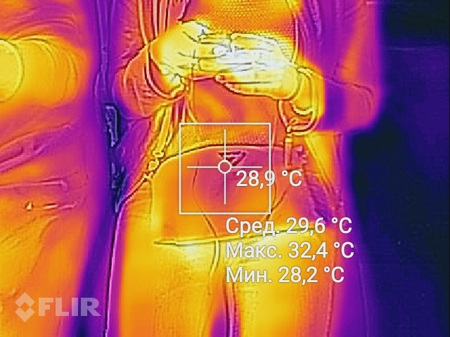 тепловизор тела