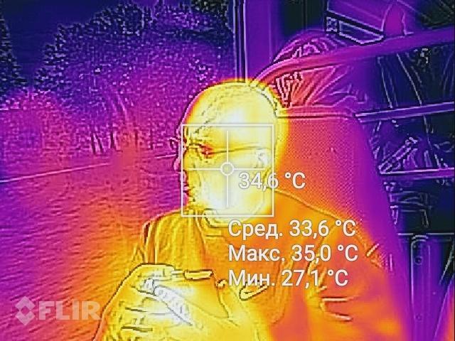 тепловизор лица