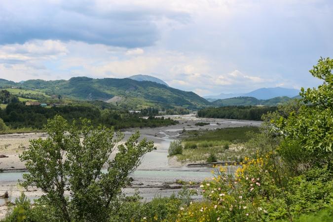 Река Ceno